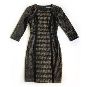 Antonio Melani Mixed Pattern Dress